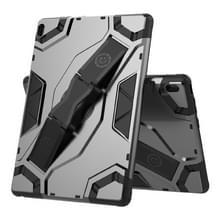 Voor Lenovo Tab E10 TB-X104F Escort Series TPU + PC Schokbestendige beschermhoes met houder(zwart)