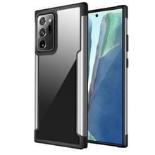 Voor Samsung Galaxy Note20 Ultra Iron Man Series Metal PC + TPU Beschermhoes (Zilver)