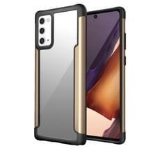 Voor Samsung Galaxy Note20 Iron Man Series Metal PC + TPU Beschermhoes(Goud)