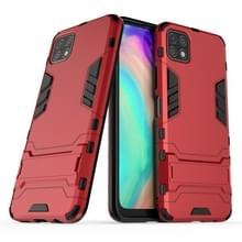 Voor Huawei Geniet van 20 PC + TPU Schokbestendige beschermhoes met houder(rood)