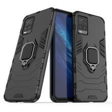Voor Vivo S7 5G PC + TPU antival beschermhoes met ringhouder(zwart)