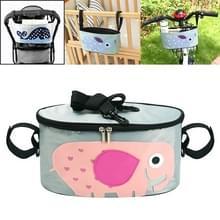Auto Baby Opslag Tas Electromobile Fiets kar opbergtas opknoping tas met cover (SKU-04-Elephant)