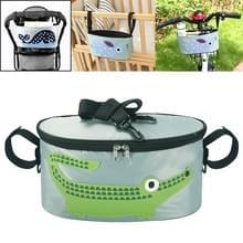 Auto Baby Opslag Tas Electromobile Fiets kar opbergtas opknoping tas met cover (SKU-06-Krokodil)