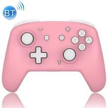 YS06 Voor Switch Pro draadloze Bluetooth GamePad Game Handle Controller  Kleur:Roze Wit