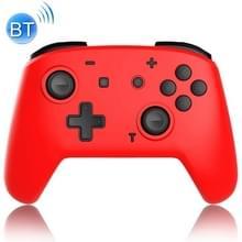 YS06 voor Switch Pro draadloze Bluetooth GamePad GameHandgreepcontroller  Kleur:Rood Zwart
