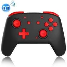 YS06 voor Switch Pro draadloze Bluetooth GamePad GameHandgreepcontroller  Kleur:Zwart rood