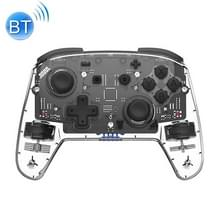 YS06 voor Switch Pro draadloze Bluetooth GamePad Game Handle Controller  kleur: 7 kleuren licht transparant zwart