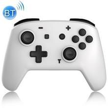 YS06 voor Switch Pro draadloze Bluetooth GamePad Game Handle Controller  Kleur:Wit