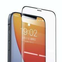 Voor iPhone 12 Pro Max Benks V Pro+ Series 0 3 mm high-definition explosiebestendige en schokbestendige tempered glass film + metaalstofbestendig net