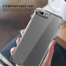Voor iPhone 6 / 6s iPAKY Airbag Shockproof Clear TPU + PC Case(Transparant)