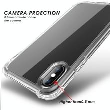 Voor iPhone XR iPAKY Airbag Schokbestendige Duidelijke TPU + PC Case(Transparant)