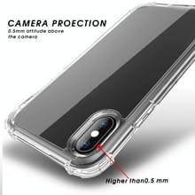 Voor iPhone XS Max iPAKY Airbag Schokbestendige Duidelijke TPU + PC Case(Transparant)