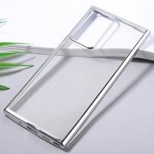 Voor Samsung Galaxy Note20 Ultra Ultra Ultra-thin Plating TPU Protective Soft Case(Silver)