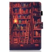 Voor Samsung Galaxy Tab S7 T870 Gekleurde tekening horizontale flip lederen kast met Holder & Card Slots & Pen Slot & Sleep / Wake-up Functie(Boekenplank)
