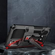 Voor Samsung Galaxy S20+ Machine Armor Warrior Shockproof PC + TPU Beschermhoes(Rood)