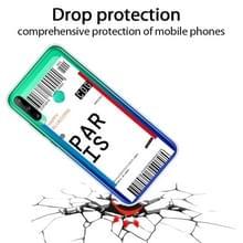 Voor Huawei P40 Lite E Boarding Card Series Patroon TPU Beschermhoes (Parijs)
