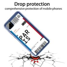 Voor Huawei Y5P 2020 Boarding Card Series Pattern TPU Protective Case (Parijs)