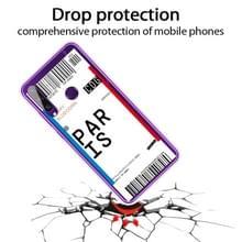 Voor Huawei Y6P 2020 Boarding Card Series Pattern TPU Protective Case (Parijs)