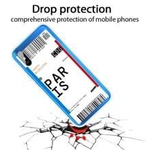 Voor Xiaomi Redmi 9A Boarding Card Series Patroon TPU Beschermhoes (Parijs)