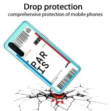 Voor OnePlus Nord Boarding Card Series Pattern TPU Protective Case (Parijs)
