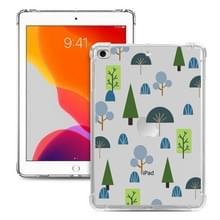 Voor iPad Mini 5 / 4 / 3 / 2 / 1 Painted Dropproof TPU Beschermhoes (Treelet)