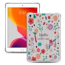 Voor iPad Mini 5 / 4 / 3 / 2 / 1 Painted Dropproof TPU Beschermhoes (Hallo dagelijks)