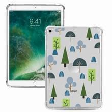 Voor iPad Pro 10 5 inch / iPad Air (2019) Painted Dropproof TPU Beschermhoes (Treelet)