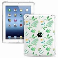 Voor iPad 4 / 3 / 2 Painted Dropproof TPU Beschermhoes (Little Green Plant)