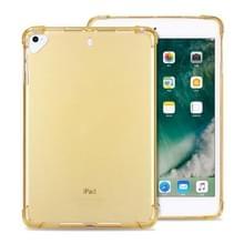 Zeer transparante TPU Full Thicken Corners Schokbestendige beschermhoes voor iPad Air (2020) 10.9 (Goud)