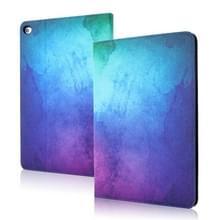 Silk Texture Anti-fall Horizontale Flip Leather Case met Holder & Sleep / Wake-up Functie Voor iPad 9 7 inch (2018) / (2017)(Starry Sky)