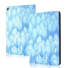 Silk Texture Anti-fall Horizontale Flip Leather Case met Holder & Sleep / Wake-up Functie Voor iPad 9 7 inch (2018) / (2017)(Ice Bird)