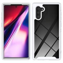 Voor Samsung Galaxy Note 10 Starry Sky Solid Color Series Schokbestendige PC + TPU Beschermhoes(Wit)