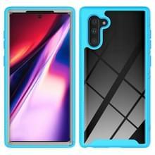 Voor Samsung Galaxy Note 10 Starry Sky Solid Color Series Schokbestendige PC + TPU Beschermhoes (Baby Blue)