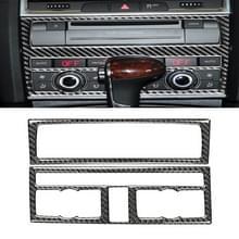 Auto Carbon Fiber Airconditioning Aanpassing paneel decoratieve sticker voor Audi Q7 2008-2015  links en rechts Drive Universal