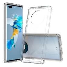 Voor Huawei Mate 40 Pro Krasbestendige TPU + acryl beschermhoes (transparant)