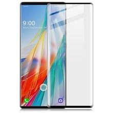 Voor LG Wing 5G IMAK 3D Gebogen full screen tempered glass film