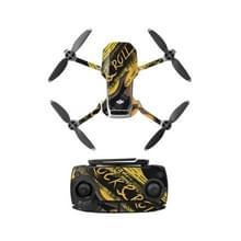 Sunnylife MM-TZ439 Waterproof PVC Drone Body + Arm + Afstandsbediening Decoratieve Beschermende Stickers Set voor DJI Mavic Mini (Rock Music)