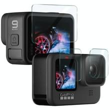 Voor GoPro HERO9 IMAK 3 in 1 cameralens en screen tempered glass film