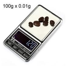 DS-29 100g x 0.01 g hoge nauwkeurigheid digitale elektronische weegschaal-balans apparaat met 2 0 inch LCD-scherm