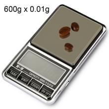 DS-29 600g x 0.01 g hoge nauwkeurigheid digitale elektronische weegschaal-balans apparaat met 2 0 inch LCD-scherm
