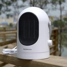 600W Winter Mini elektrische Warmer kacheltje schudden hoofd bureaublad huishoudelijke Radiator energiebesparing  UK Plug (wit)