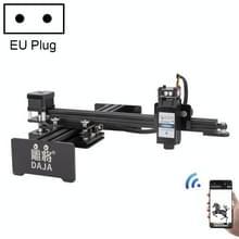 DAJA D2 3W 3000mW 17x20cm Graveergebied 360 Graden Rotatie Laser Graveur Snijmachine  EU Plug
