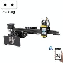 DAJA D2 5.5W 5500mW 17x20cm Graveergebied 360 Graden Rotatie Laser Graveur Snijmachine  EU Plug