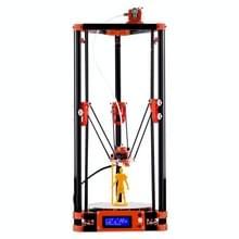FLSUN_A 3D-Printer Delta Kossel DIY Kit met grote 3D Printing grootte bijgewerkt wroeten systeem verwarmd Bed automatische herverdeling