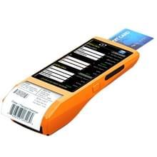 PDA-5501 Multi-function 5.5 inch IPS scherm IP65 bescherming alles-in-één intelligente Terminal  ingebouwde thermische lijnprinter & MIC & luidspreker  steun WiFi & Bluetooth & GPS(Orange)