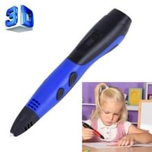 Gen van de 6de ABS / PLA Filament Kids DIY tekening afdrukken in 3D Pen met LCD Display(Blue+Black)