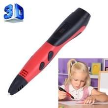 Gen van de 6de ABS / PLA Filament Kids DIY tekening afdrukken in 3D Pen met LCD Display(Red+Black)