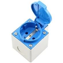 Outdoor IP44 waterdichte socket met deksel  EU stekker