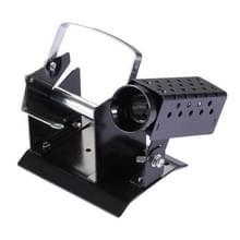 Baogu metaal soldeerbout Stand met solderen draad Holder(Black)