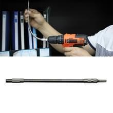 Metalen oplaadbare boor elektrische schroevendraaier dedicated flexibele shafting torque boorstangen  lengte: 30cm